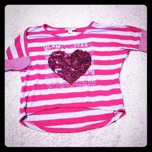 Girls Sequins Shirt